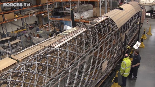 RAF Cosford. The museum that is restoring a Wellington Mk10B Bomber