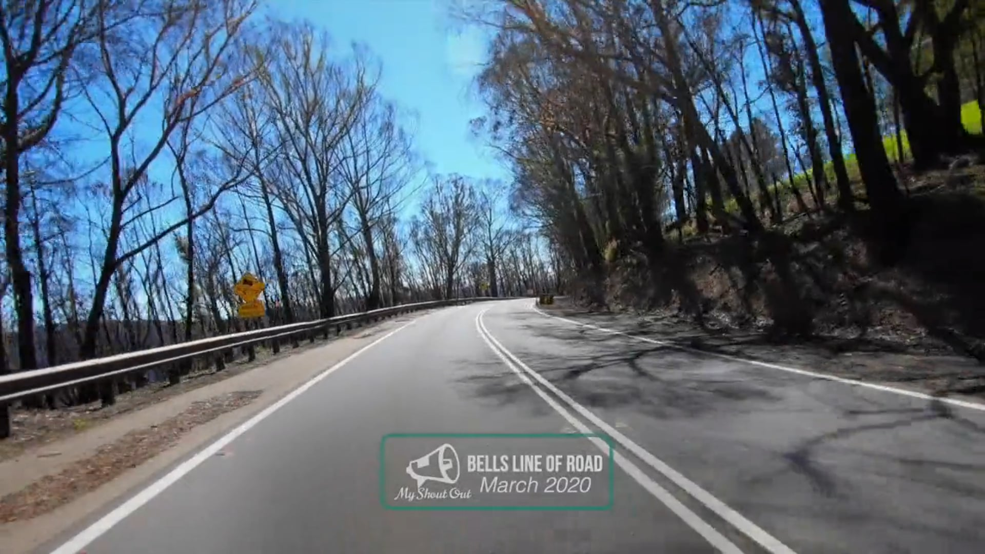 Drive Through Bells Line of Road - Bilpin
