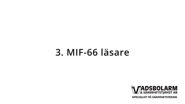 3. MIF-66 läsare