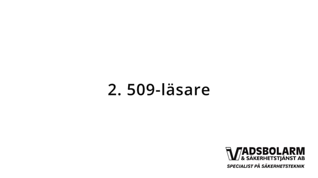 2. 509-läsare