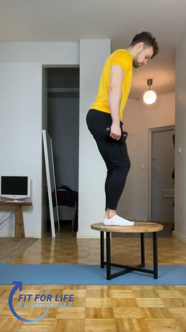 Step Up, alternating (home)