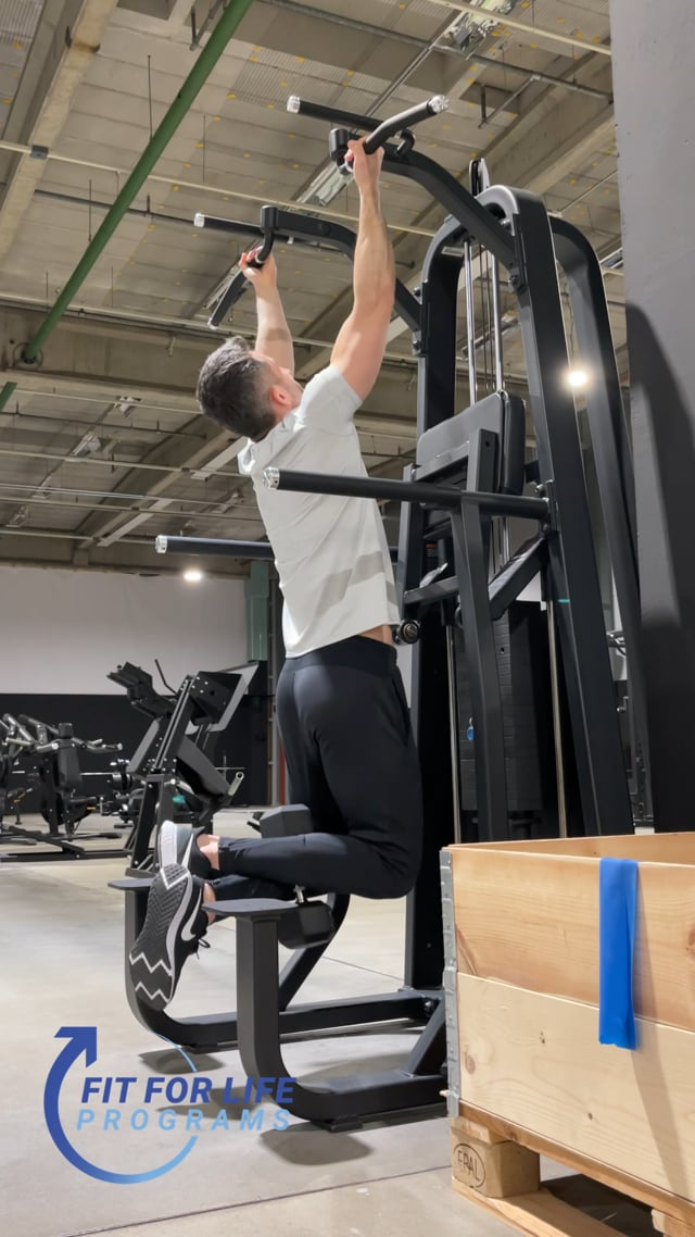 Pull Up, weighted, reverse grip