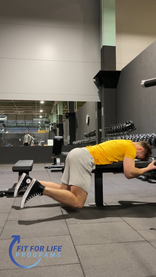 Bench Glute Squeeze