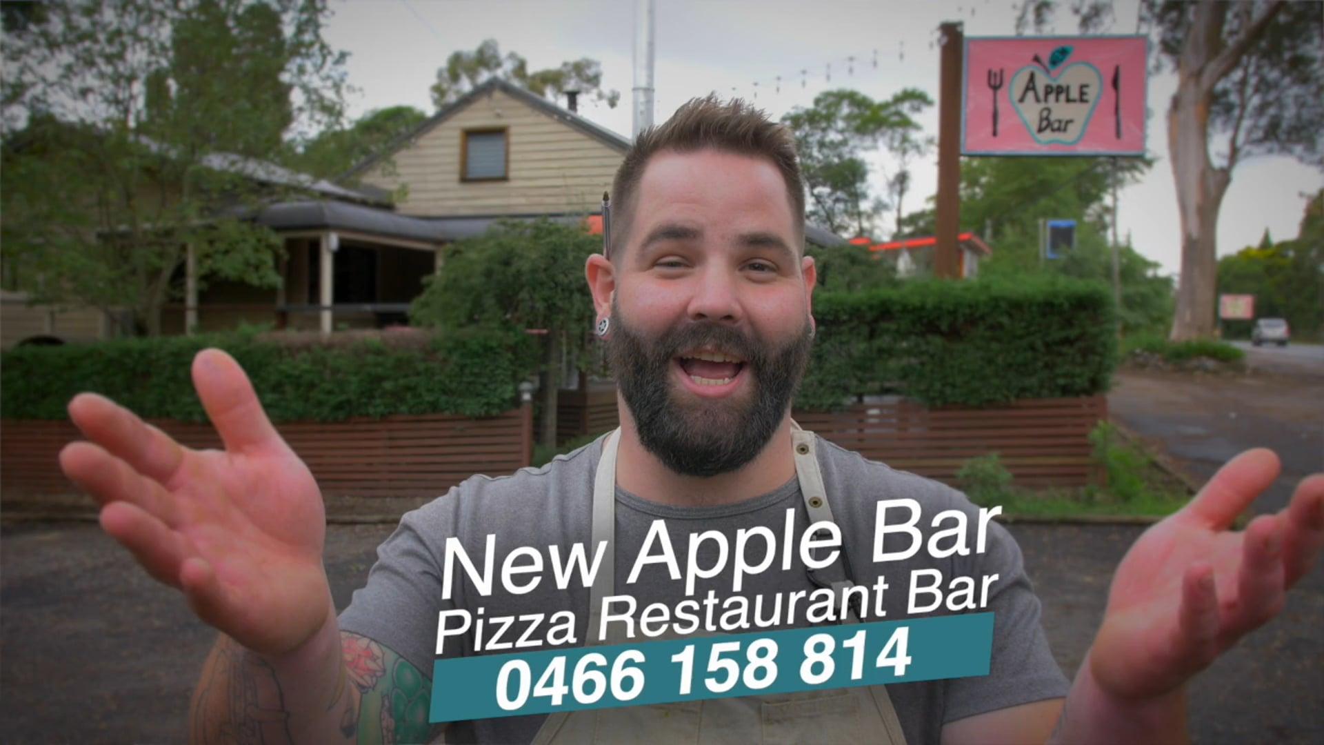 New Apple Bar - Bilpin