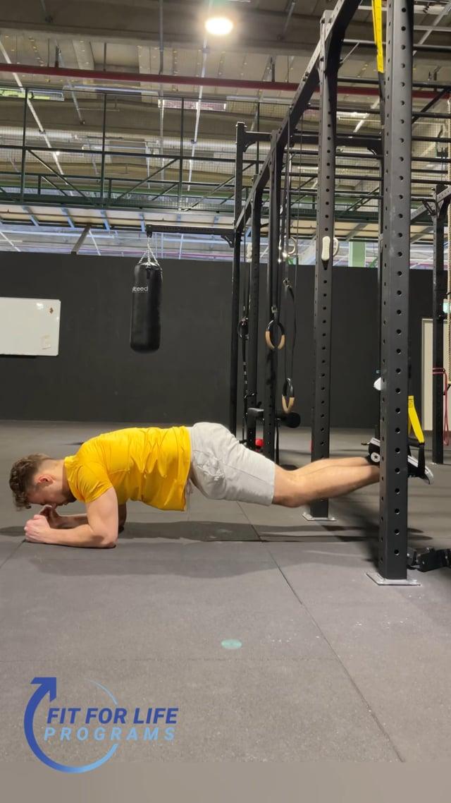 TRX Up & Down Plank