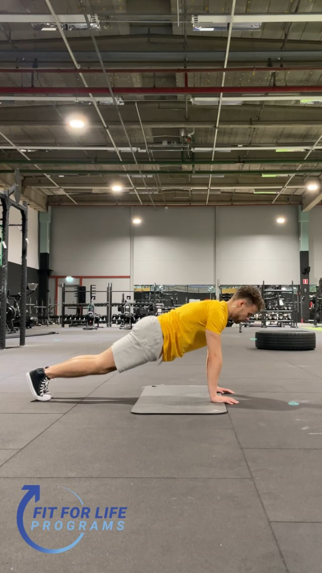 Dynamic Stretching, abs & lower back