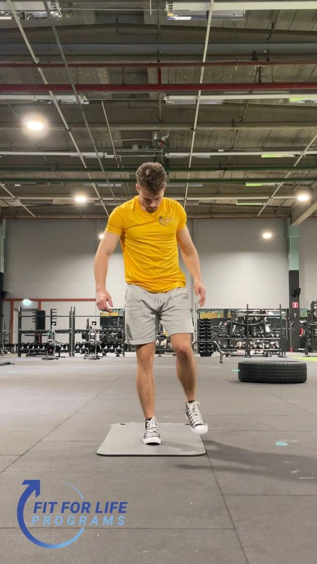 Dynamic Stretching, quads