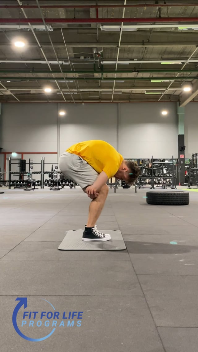 Dynamic Stretching, lower back