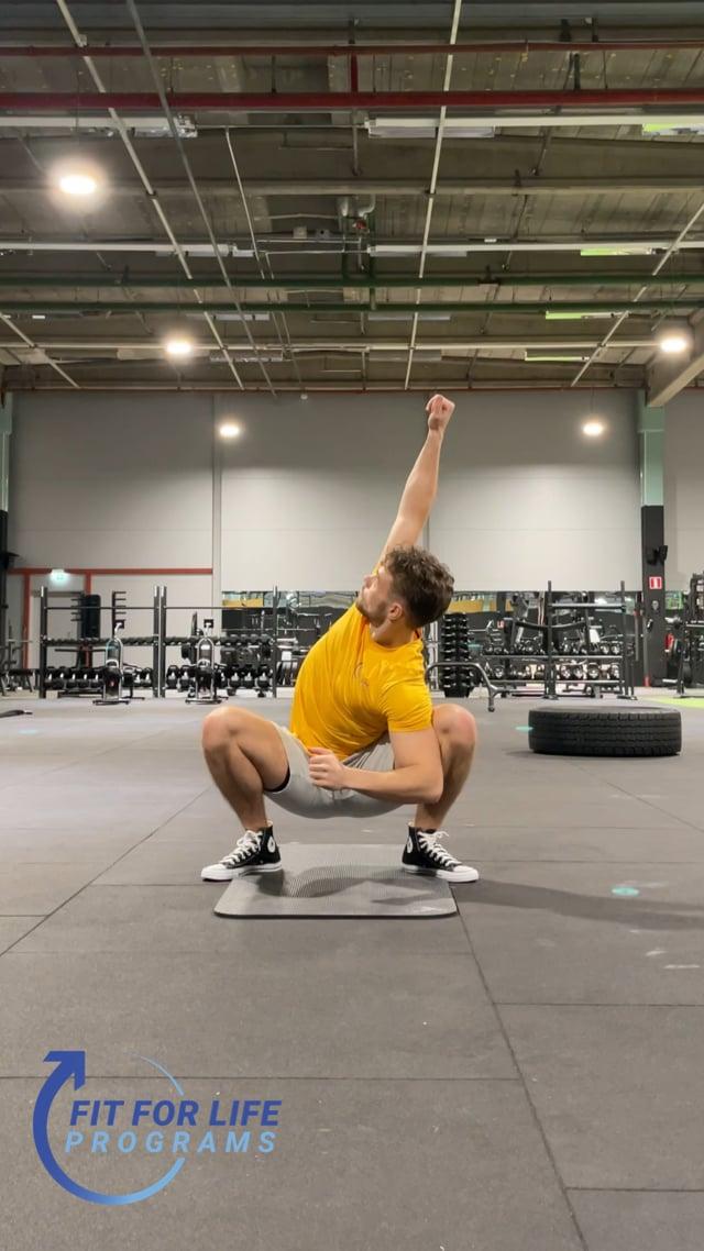 Dynamic Stretching, full body