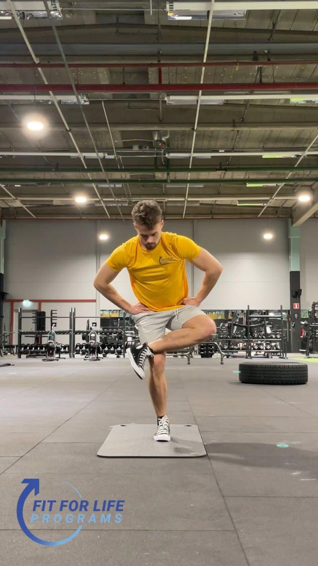 Dynamic Stretching, glutes