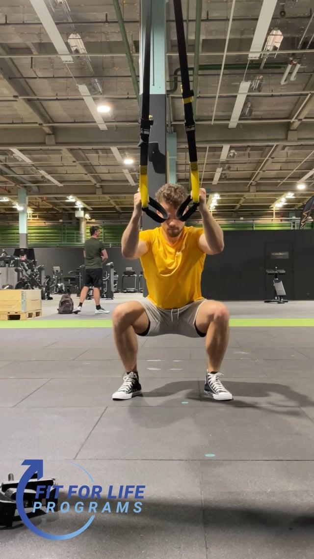 TRX Double Squat Jump