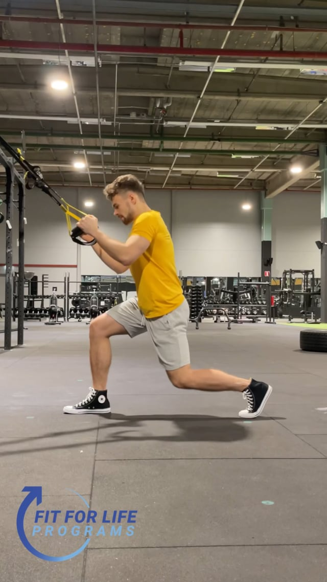 TRX Jumping Lunges