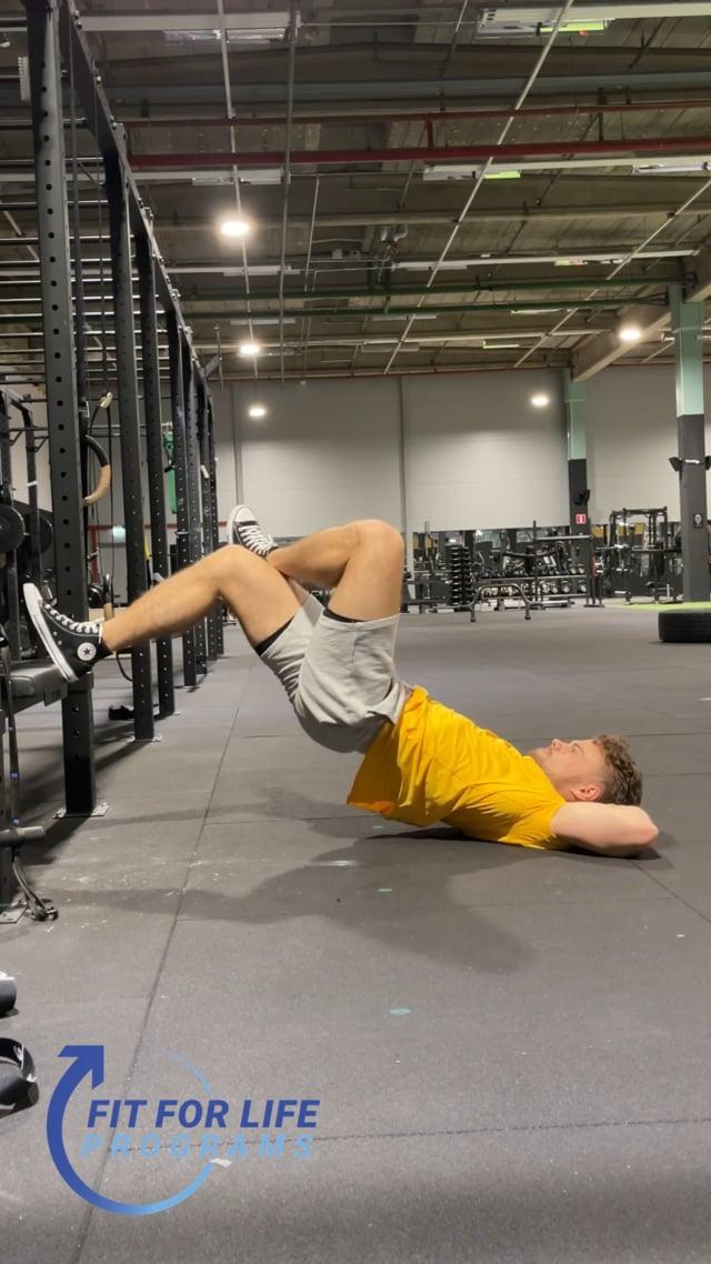 Hip Thrust, incline, single leg