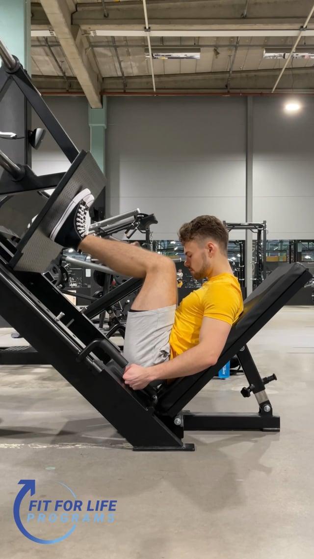 Leg Press, close stance