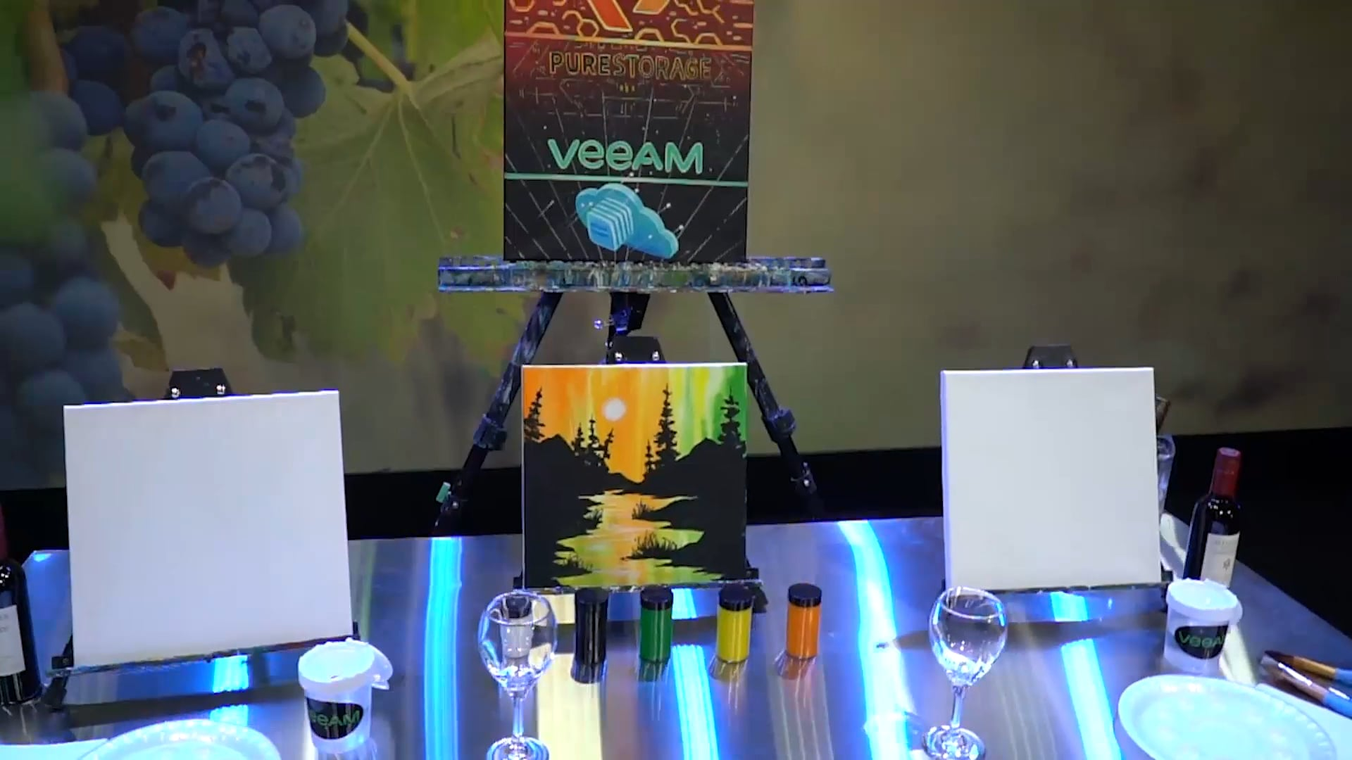 Virtual Paint & Sip