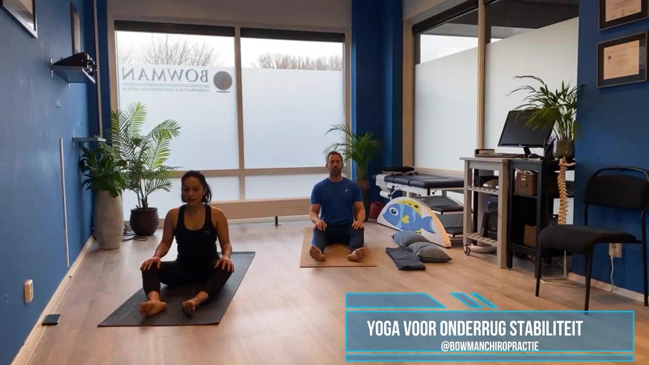 Yoga met Karla onderrug stabiliteit en lage rugklachten