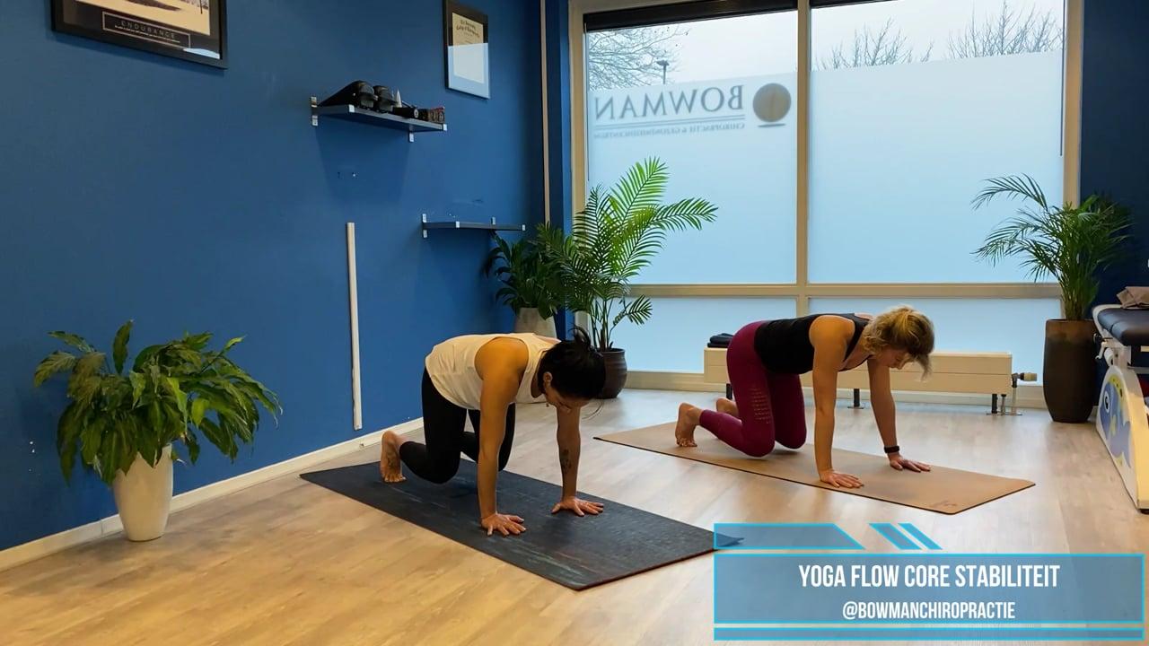 yogaflow core stabiliteit met Karla