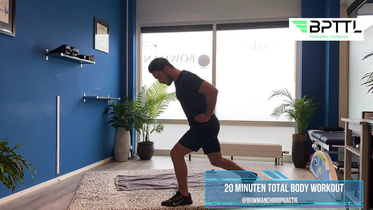 20 minuten total body workout