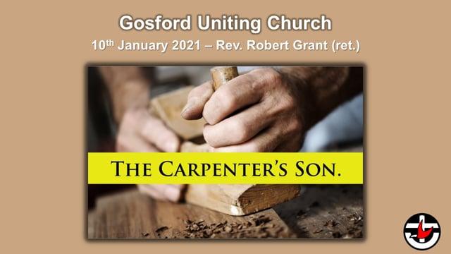10th January 2021 - Rev. Robert Grant (ret.)