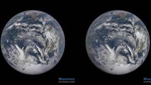 Whole Earth in Stereo