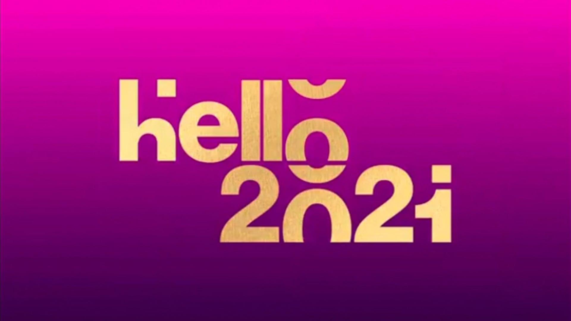 Hello 2021 - YouTube New Year's Eve Celebration