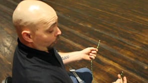 Tying a fishermans knot 12-31-20