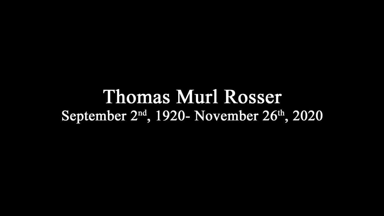Thomas Murl Rosser Memorial at Riverside National Cemetery