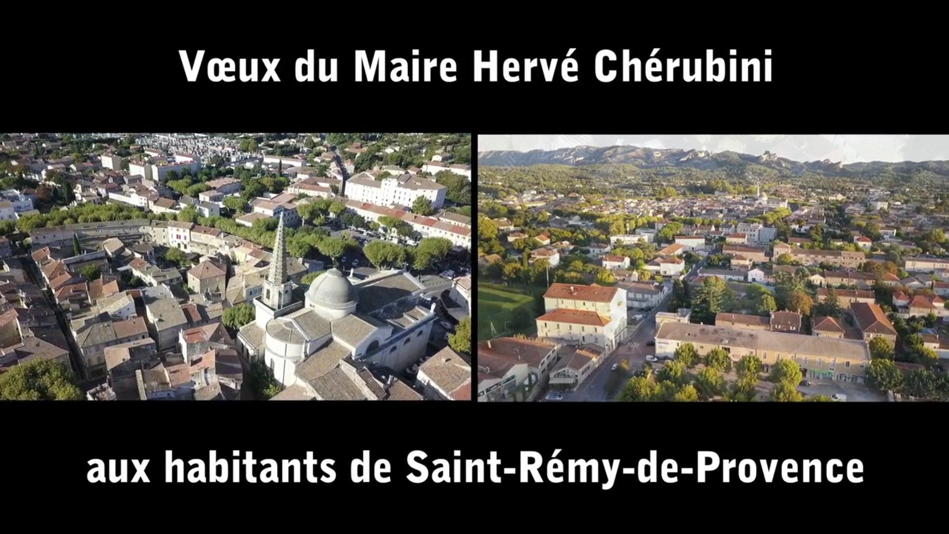 Voeux 2021 St. Rémy de Provence