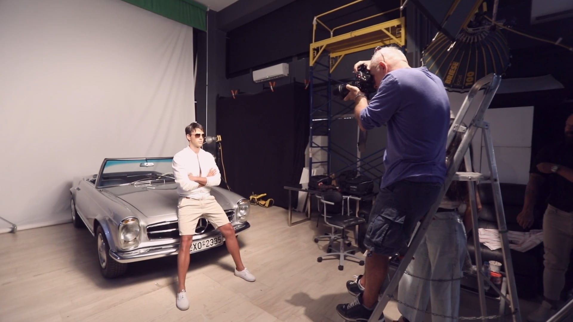 See You Optical Studios concept photoshoot by Thomas Chrisohoidis ( making of clip )