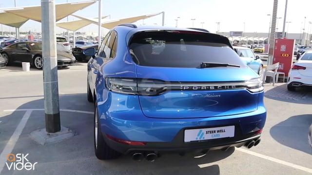 Porsche Macan 2020 Blue f...