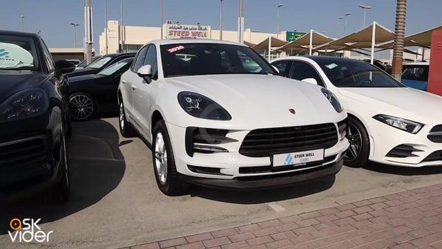 Porsche Macan 2020 White...