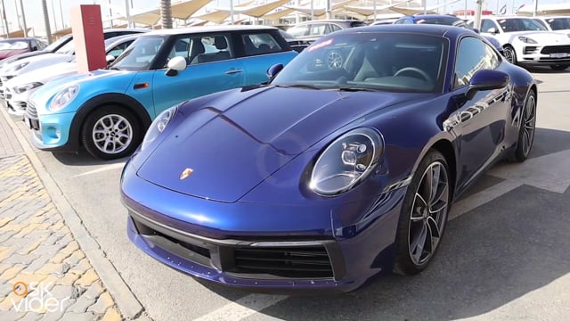 Porsche Carrera 2020 Blue...