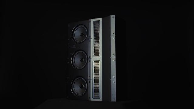 Steinway & Sons LS l/r in-wall speaker