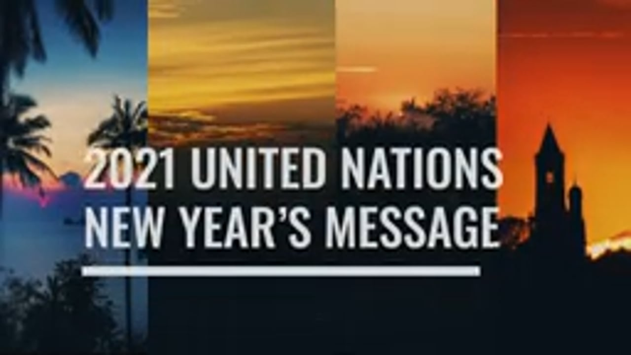 United Nations' sustainable future in 2021