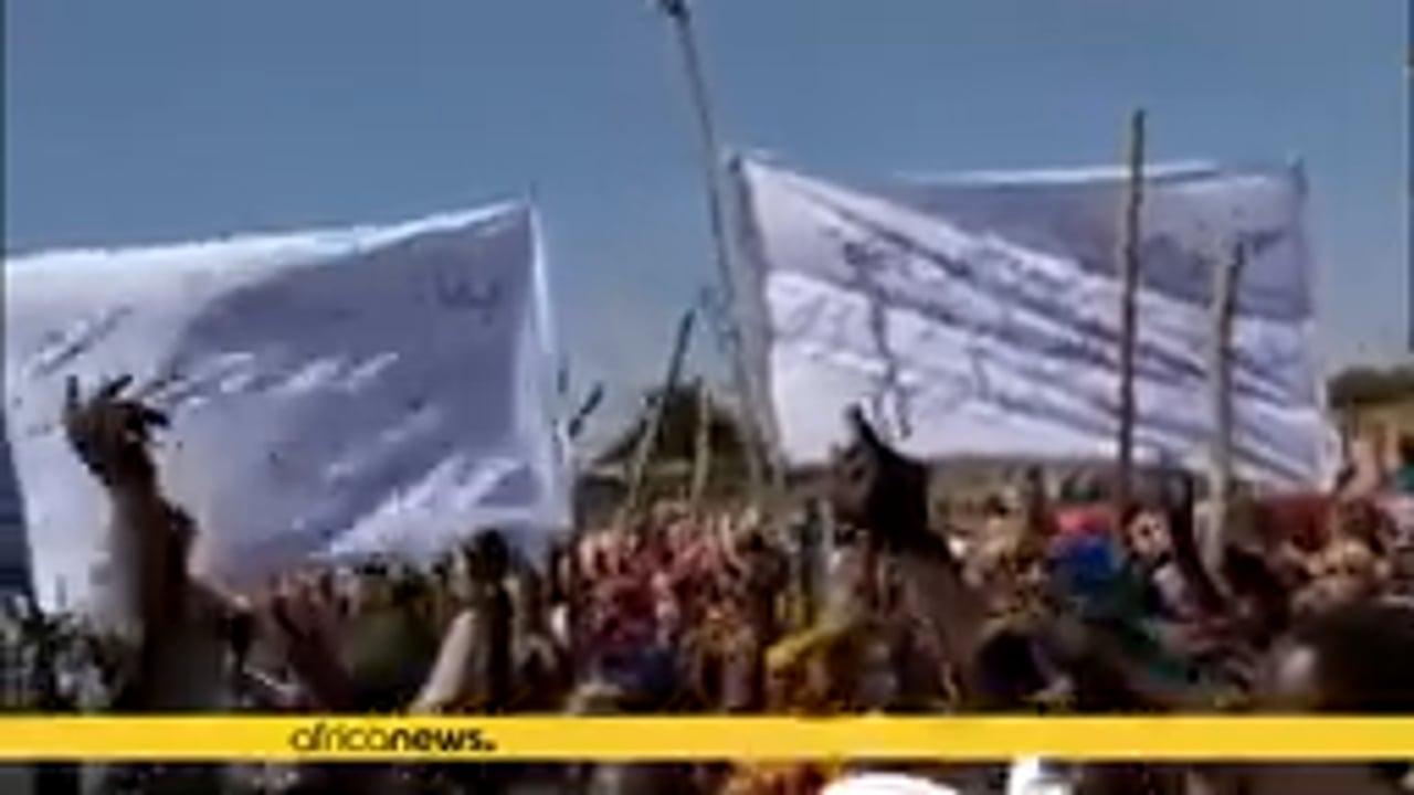 Protests against UN-AU peacekeeping withdrawal in Sudan