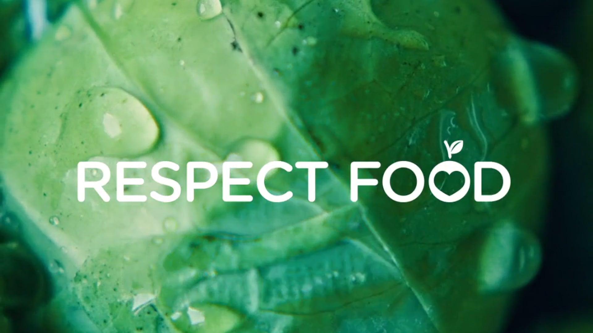 """Mehmet Aksin DOP-Grundig """"Respect Food"""""""
