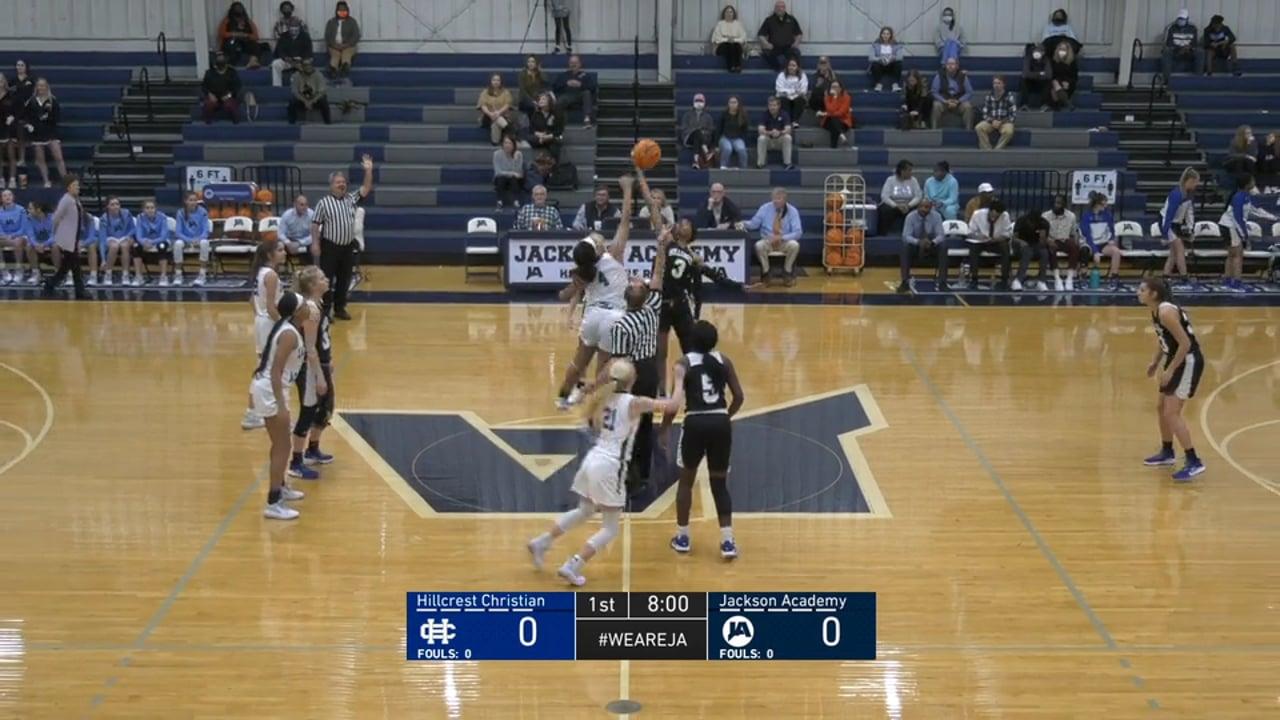 Varsity Girls Basketball vs Hillcrest Christian - 01-04-21