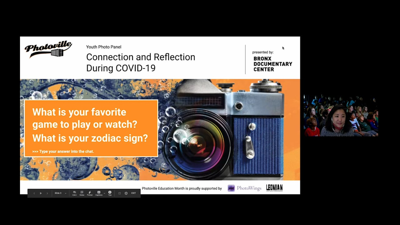 """""""Connection and Reflection during COVID-19"""" presented with Bronx Junior Photo League"""
