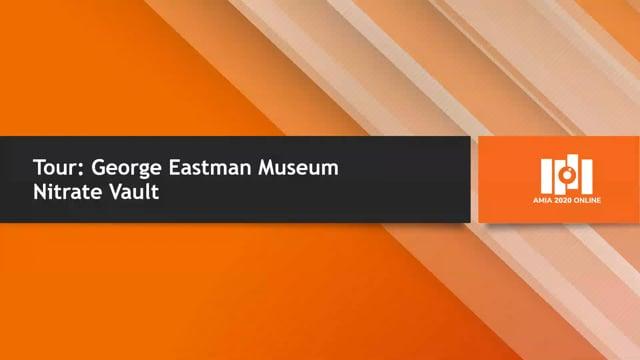 Tour: George Eastman Museum Nitrate Vault