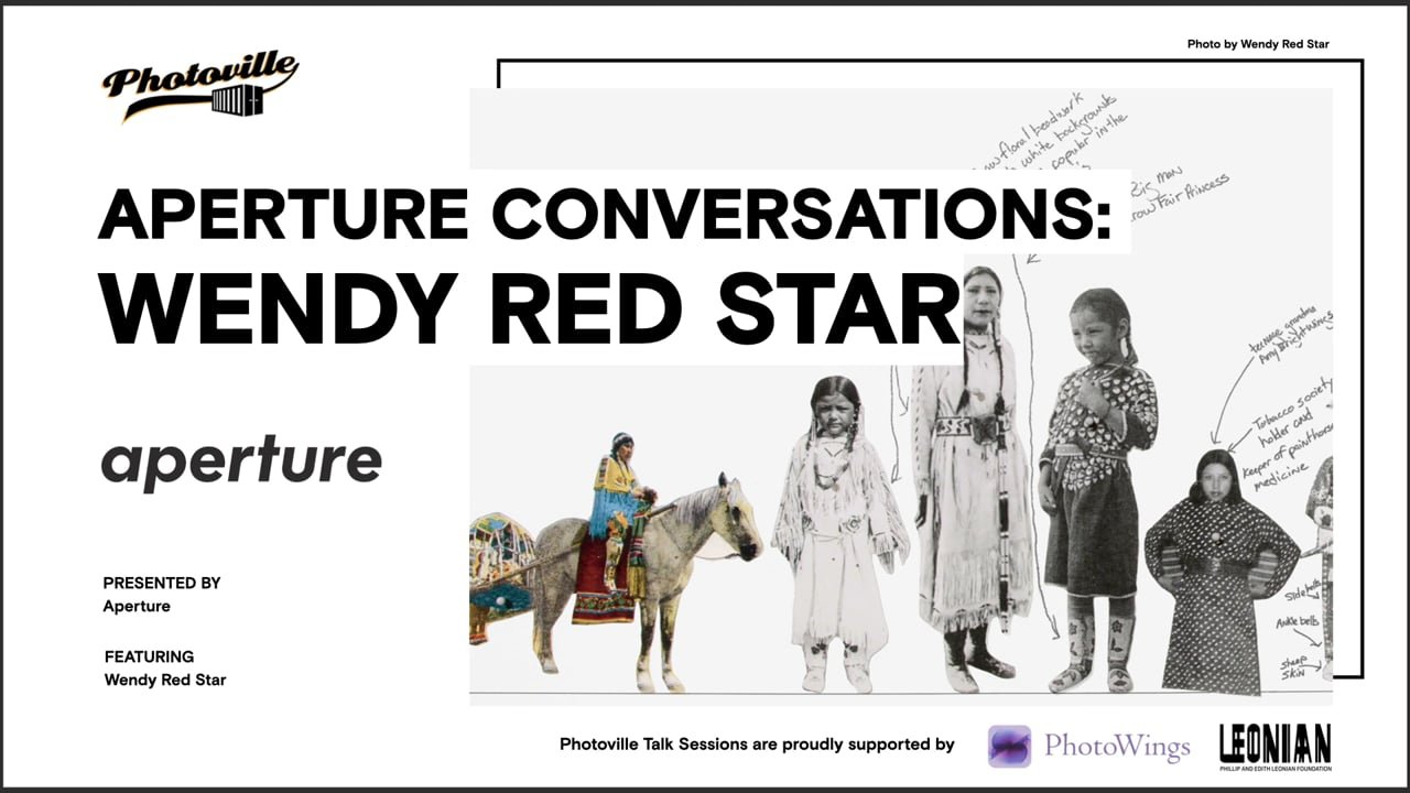 """""""Aperture Conversations: Wendy Red Star"""" presented with Wendy Red Star"""