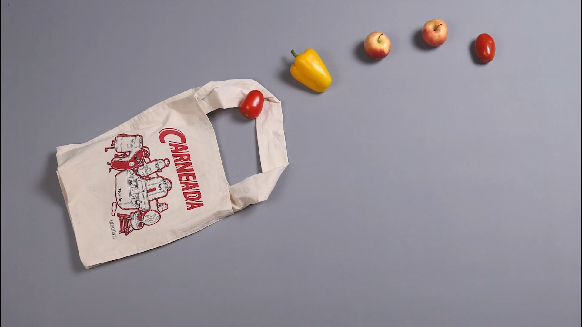 Reusable bag campaign for Pronto