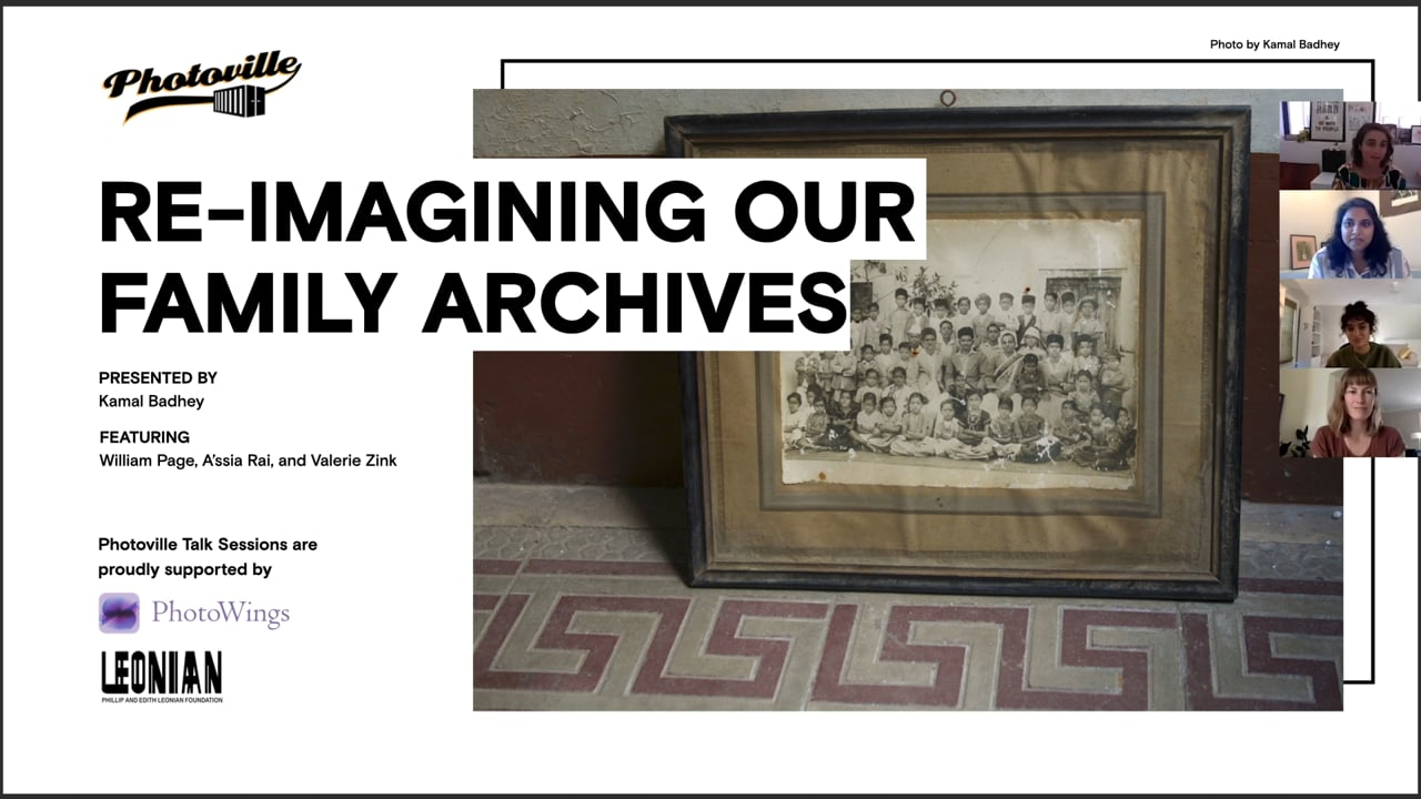 """""""Re-Imagining Our Family Archives"""" presented with Kamal Badhey"""