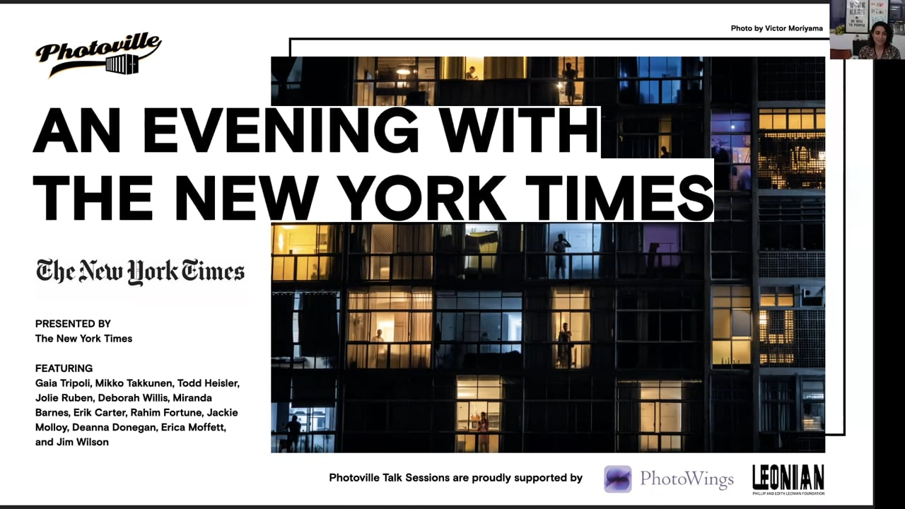 """""""An Evening with The New York Times"""" presented with The New York Times"""