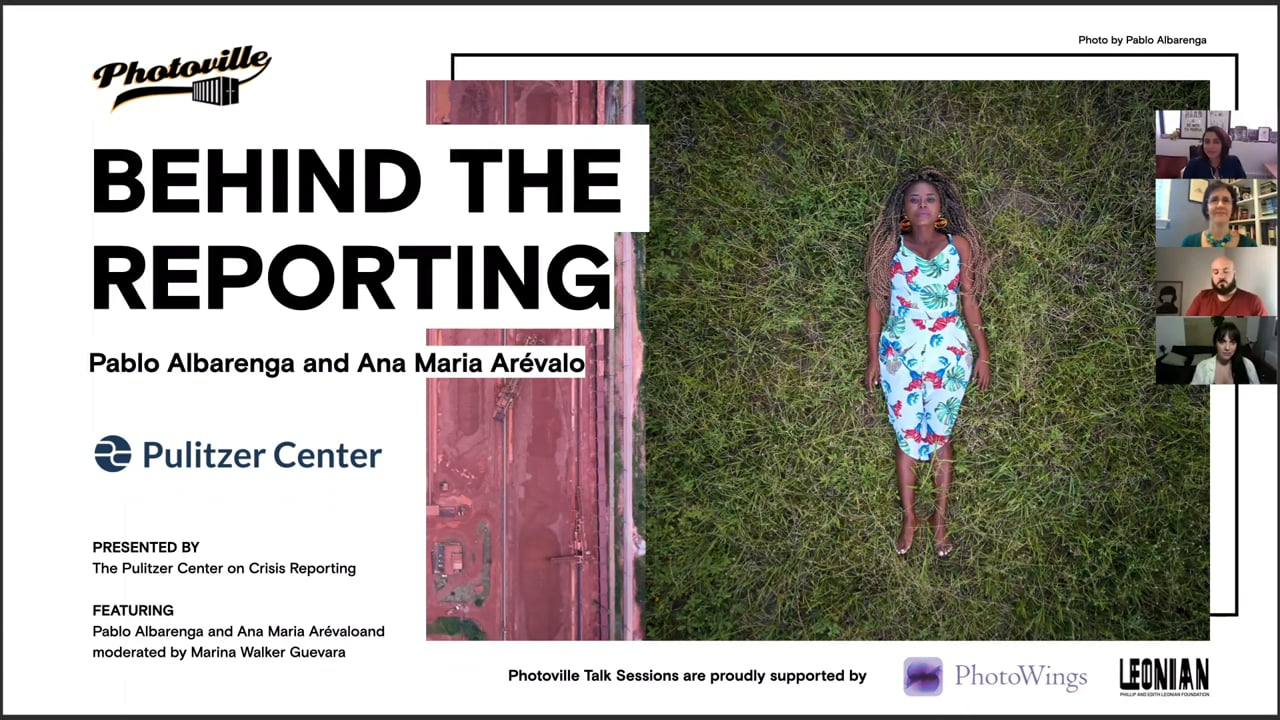 """""""Behind the Reporting: Pablo Albarenga and Ana Maria Arévalo"""" presented with The Pulitzer Center on Crisis Reporting"""
