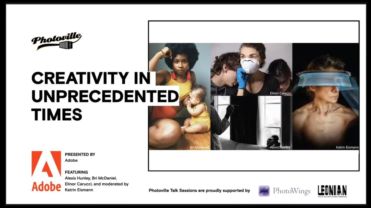 """Creativity in Unprecedented Times"" presented with Adobe"