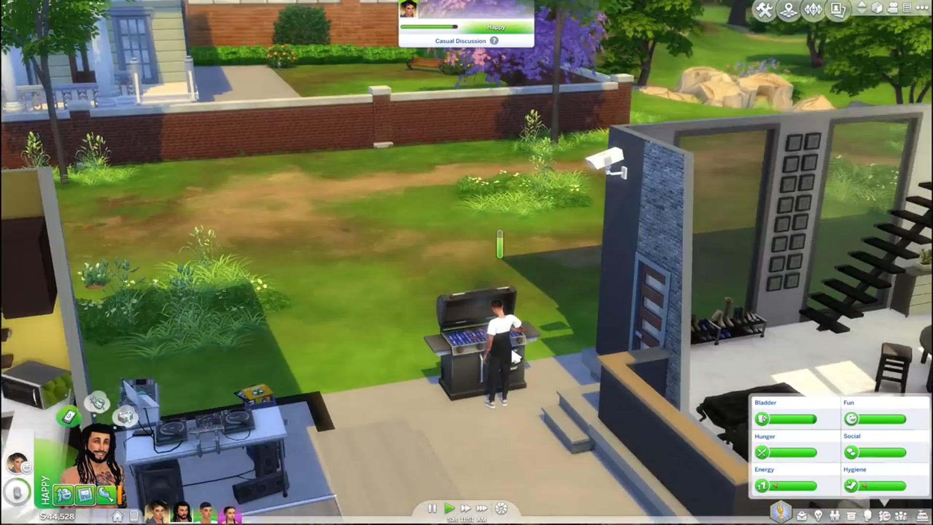 04 BBQ BRAWL!!  Sims 4 Gameplay  Ep 4