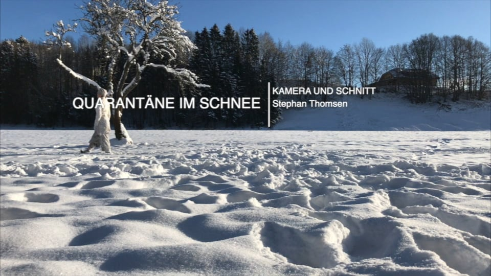 Quarantäne im Schnee