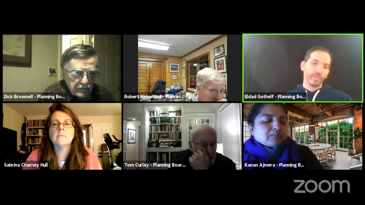 Town of New Castle Planning Board Work Session 1/7/21
