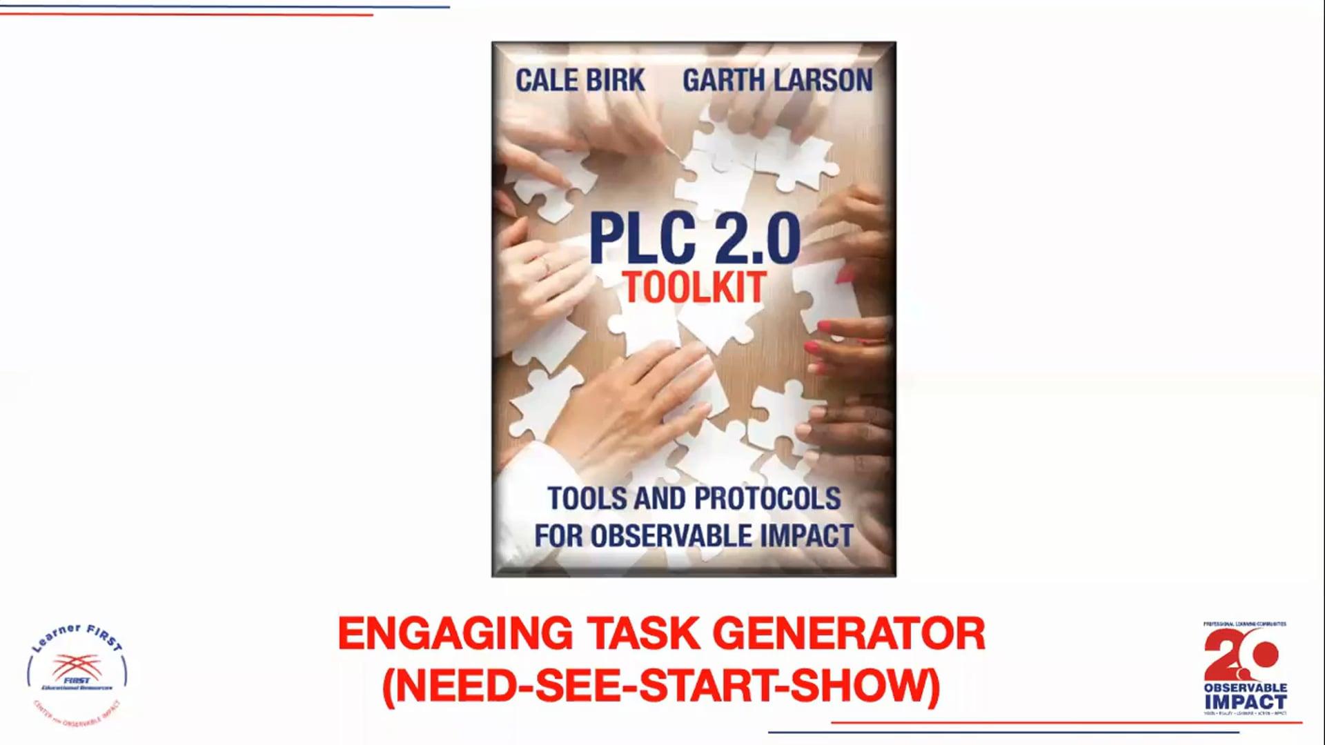 PLC 2.0 - Engaging Task Generator