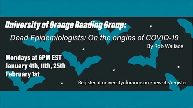 Dead Epidemiologists Reading Group: Session #1